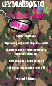 26 FREE BOOTCAMP exercises