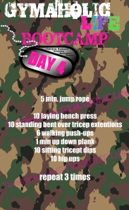 4 FREE BOOTCAMP exercises
